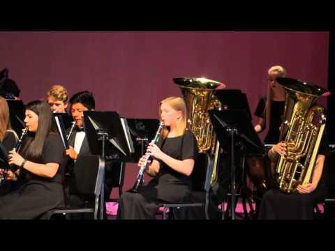 "GHS Pre-UIL Concert 2016 - Honors Band ""La Tregenda"""
