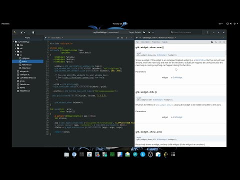 GNOME 3.22 | Make a GTK App with Builder - A programmer is born :p