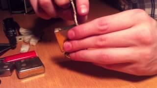comment réparer zippo