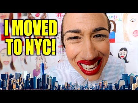 I MOVED TO NEW YORK CITY!
