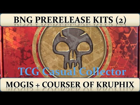 Magic the Gathering Two Born of the Gods Prerelease Kits Mogis Courser of Kruphix |