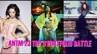 America's Next Top Model Cycle 23 Portfolio Battle