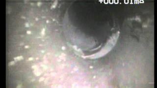 Vadné potrubí od okapu zemní část po vyčištění  Prokopovo Náměstí 14  0ATCPD10