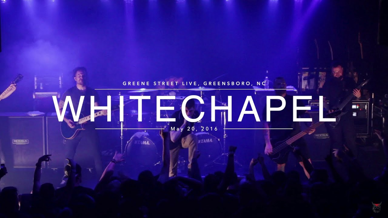 Whitechapel - Decade of the Blade Tour - live in HD! - Greensboro, NC