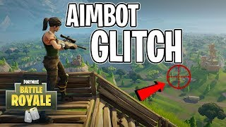 Aimbot Glitch in Fortnite: Battle Royale (PS4 & XBOX One)