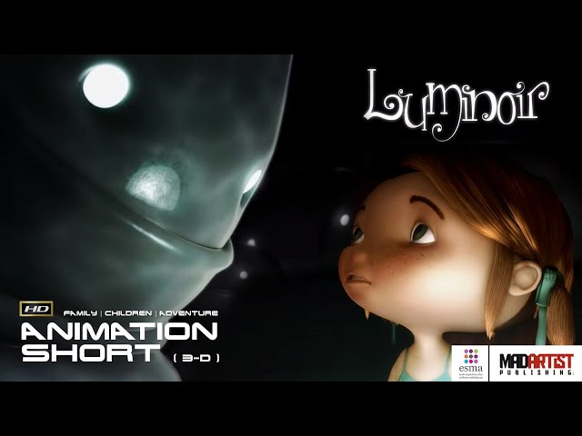 LUMINOIR | Little Girl enters a world where Bed Monsters are fun - 3D CGI Animation by ESMA