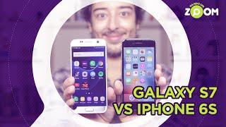 Galaxy S7 vs iPhone 6S - COMPARATIVO | DANDO UM ZOOM #29