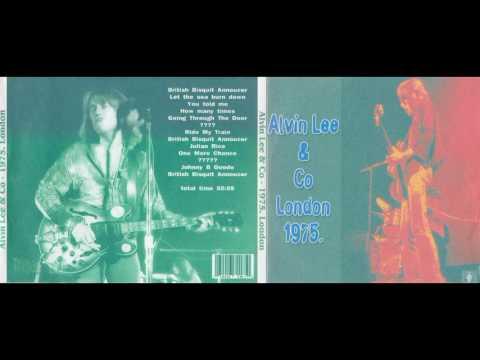 ALVIN LEE & CO live in London, 1975