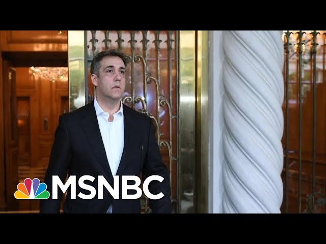 What Has Been Learned From Newly Unsealed Cohen Search Warrants? | Hallie Jackson | MSNBC