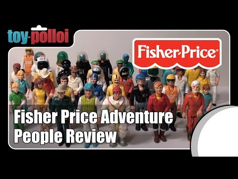 Vintage Toy Review - Fisher Price Adventure People