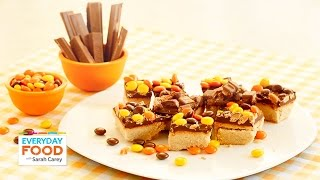 Halloween Candy Shortbread Bars - Everyday Food With Sarah Carey