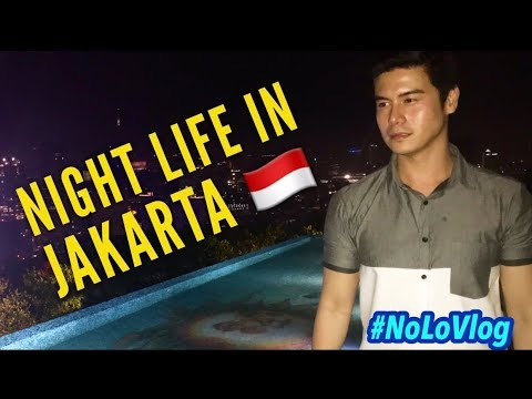 WHY FOREIGNERS LOVE INDONESIA PART 2 | SARINAH STREET FOOD | JAKARTA NIGHT LIFE | NoLo Vlog