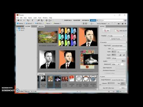 Digital Photo How to print a contact sheet in Bridge