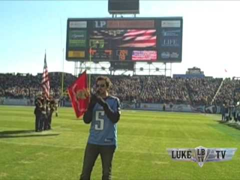Luke Bryan TV 2008! National Anthem (Titans v. Browns) Thumbnail image