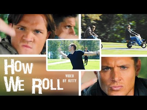how we roll • jared + jensen (j2) {supernatural}