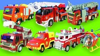 Feuerwehrmann Sam Spielzeug Unboxing Deutsch | Hubschrauber, Feuerwehrauto| Spielzeuge für Kinder