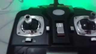 Tutorial,  controle do Drone Syma X5C