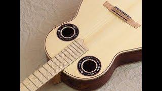 Matchless play-ability of the Hawaiian Koa Nergra Andalusian Simplicio 1929krz / Wittner pegs