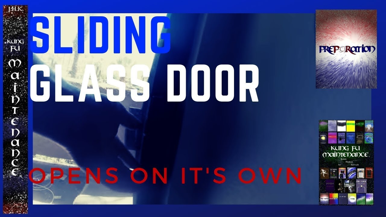 Patio sliding glass door pops open on its own gap wont close patio sliding glass door pops open on its own gap wont close shut all the way diy fast fix planetlyrics Image collections