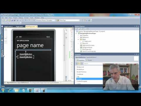35. Navigating and Passing Data between XAML Pages - Day 3 - Part 3