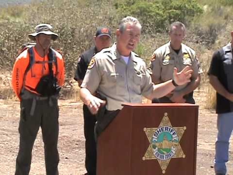 Ventura County Sheriff Press Conference on Missing Hiker ...