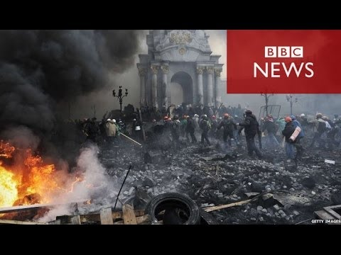 Ukraine Protest: Kiev 'once again a battle-zone' - BBC News