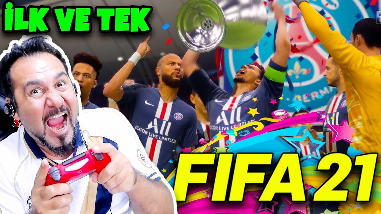 TÜRKİYE'DE İLK VE TEK FIFA 21 PARIS SAINT-GERMAN-BAYERN MUNIH MAÇI YAPTIM! | FIFA 21 OYNUYORUM