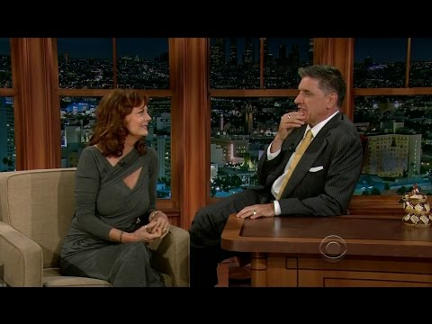 Late Late Show with Craig Ferguson 10/24/2012 Susan Sarandon, David Benioff