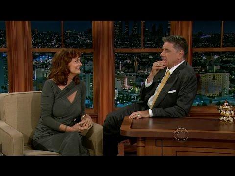 Late Late Show with Craig Ferguson 10/24/2012 Susan Sarandon, David Benioff