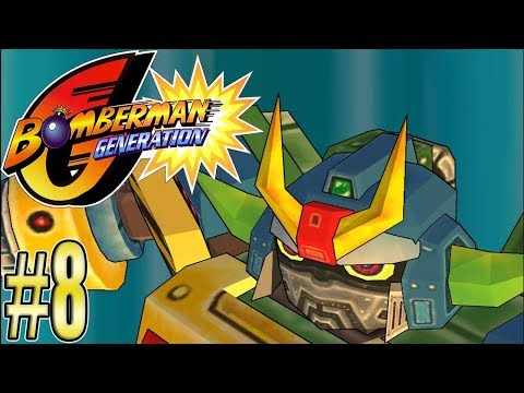 Re.Let's Play Bomberman Generation [German] #8 - TRANSFORMERS!