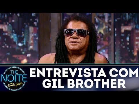 Entrevista com Gil Brother Away   The Noite (05/12/17)