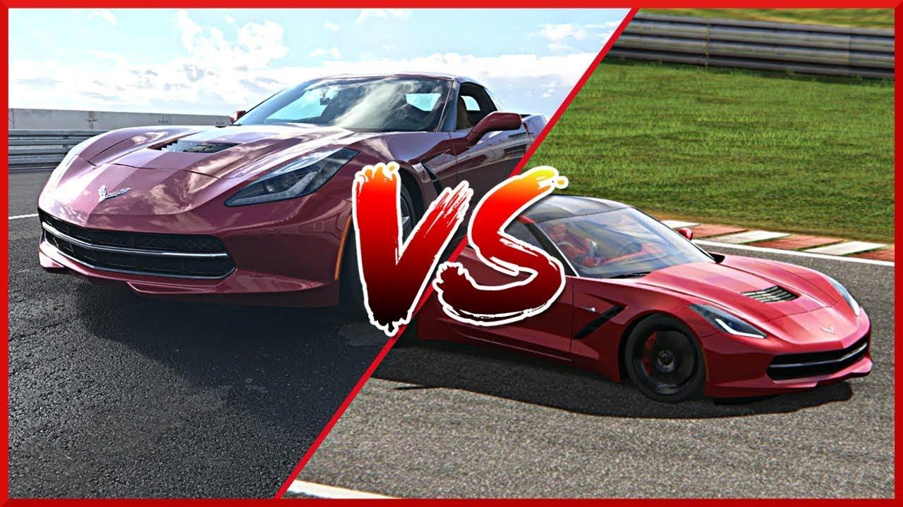 SYMULATOR VS RZECZYWISTOŚĆ (Corvette C7) – TopGir #7