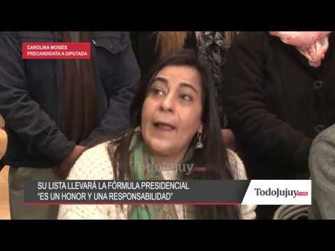 Carolina Moisés será la única que llevará en su lista la fórmula Fernández- Fernández