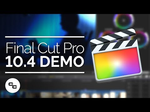 Final Cut Pro X 10.4 Demo - Big Focus On Color Grading
