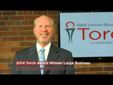 2014 Torch Awards for Marketplace Trust - Large Business Winner - Hammersmith Management