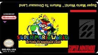 🔴[Re run] SMW Return to dinossaur land (!loots)