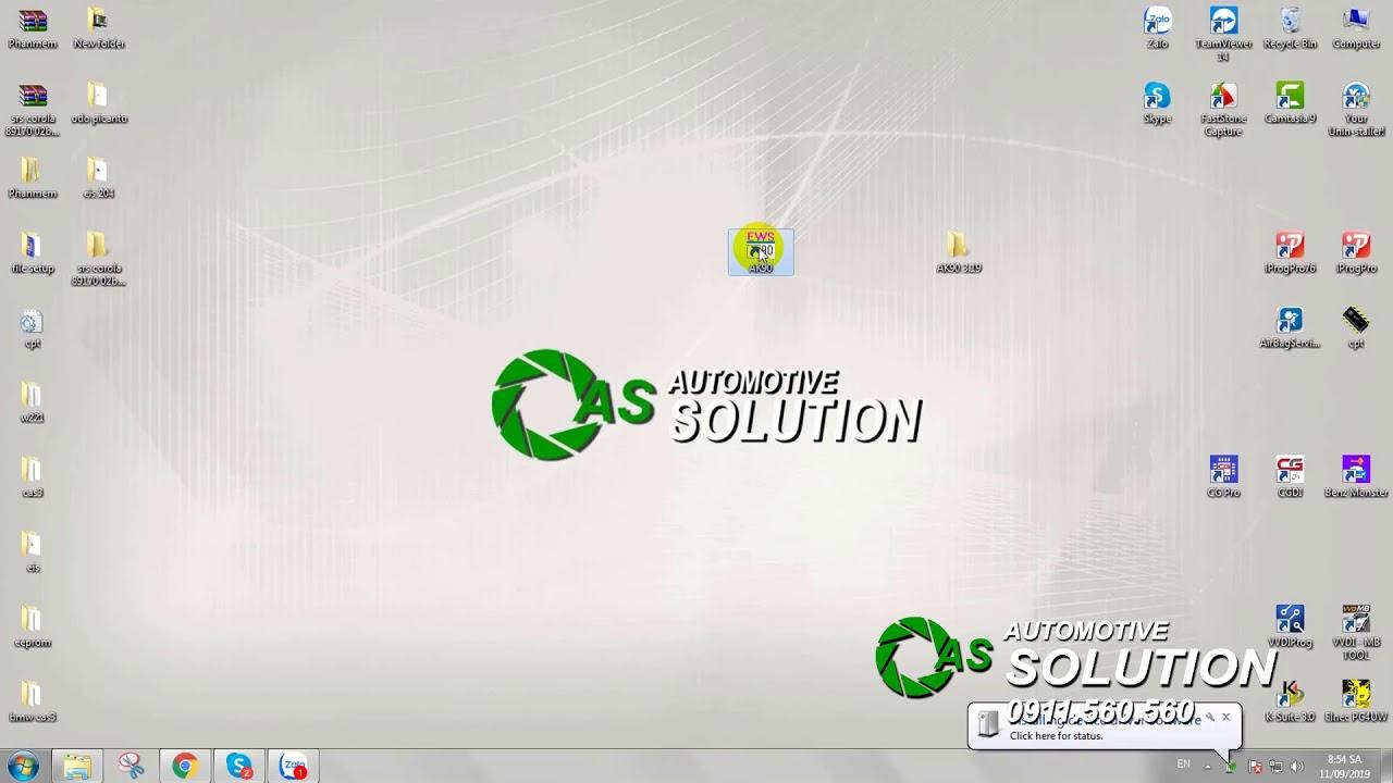 Hướng dẫn cài đặt phần mềm AK90 – ASCOM.VN