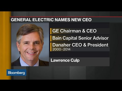 GE's New CEO: What Larry Culp Brings to the Company
