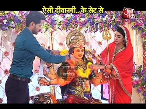 Aisi Deewangi: Prem & Tejaswini's Perform First Navratri Pooja After Marriage