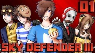 Sky Defender III #01 : FOUR BOYS ONE GIRL