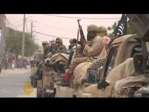 Intense fighting in Mali after president deposed