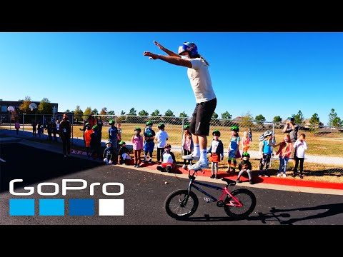 GoPro: Donating Strider Bikes to Schools with Brian Lopes | All Kids Bike