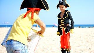 Игра В Квест Пираты. Пиратский Челлендж дети на море