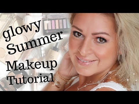 Glowy Summer Look I leichtes einfaches Sommer Makeup für jedes Alter I Mamacobeauty