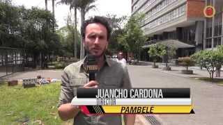 """Detrás de cámaras de """"Pambelé"""" con Jarlin Martínez y Laura Vieira"""