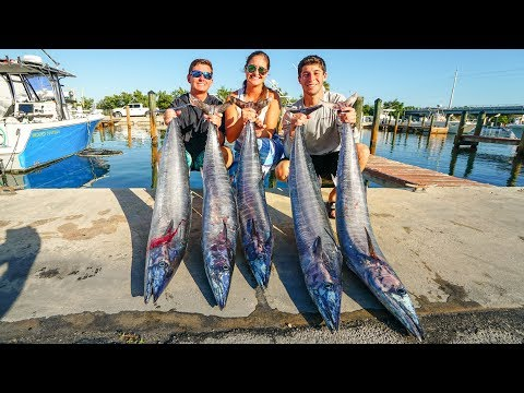 CAUGHT Our Limit! DEEP SEA Wahoo Catch N Cook