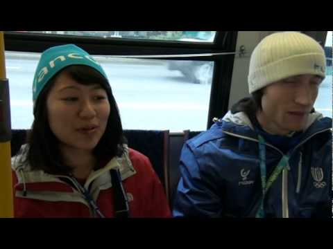 Interview Italian Speed skater