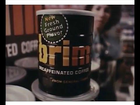 Brim Coffee 'Fresh Ground' Commercial (1976)