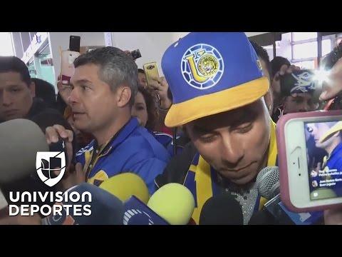 """Eduardo Vargas a su llegada a Monterrey: """"Tigres es el equipo más grande de la Liga MX"""""""