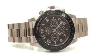 invicta men s 10706 speedway chronograph brown dial 18k rose gold ionplated stainless steel watch